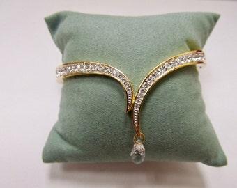 SWAROVSKI Crystal Drop Bangle Bracelet Item W # 449