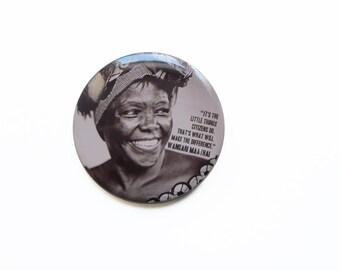 Wangari Maathai [PINBACK_BADGE]