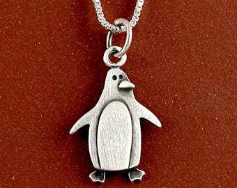 Penguin necklace / pendant