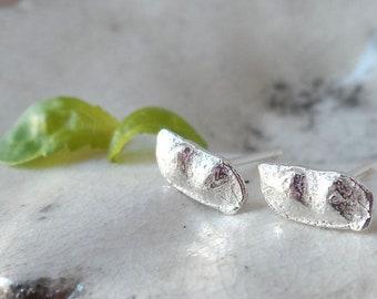 Two Peas in a Pod Sterling Silver Earrings