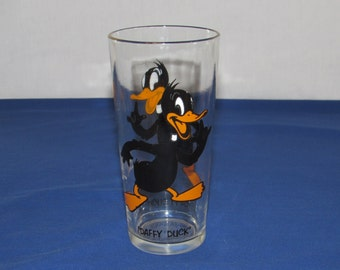 DAFFY DUCK GLASS 1973 Pepsi Collector's Series Looney Tunes