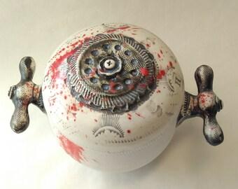 Psycho Porcelain Small Jar v2.0