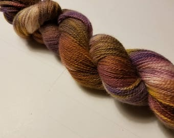 "Hand Dyed Lace Weight Yarn ""Renaissance Lite"""