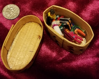 Tiny People ,Made in Guatemala, 1980's Children's worry dolls