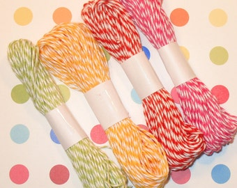 Citrus Collection Bakers Twine by The Twinery  (10 Yds Each)