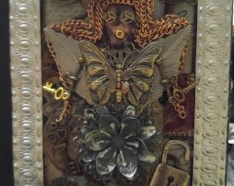 steampunk fairy journal