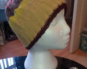 striped hat - Adult