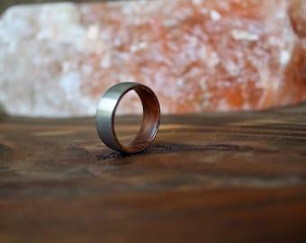 Wedding Band, Tungsten Wedding Ring, Wood Ring, wooden ring, wooden rings, Wood wedding band, Wood rings for men, Wood, Wooden Wedding Band