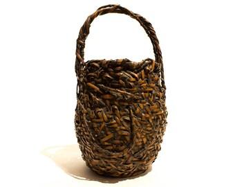 Hanakago - Antique Japanese Flower Basket - FREE SHIPPING