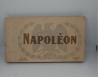 Flash 50% off sale Antique French Napolion Postcard Collection