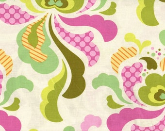 Heather Bailey • FRESHCUT groovy • oliv • Cotton Fabric 0.54yd (0,5m) 001601