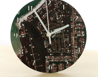 Personalized Clock – Aerial