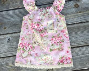 Vintage Tea Party Dress, vintage, toddler dress, baby dress
