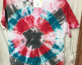 Tie Dyed T-Shirt Adult Medium  (AM-6)