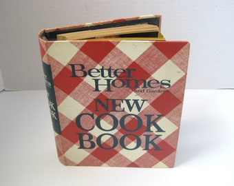 Vintage Better Homes and Gardens Cook Book 1969 2nd Printing