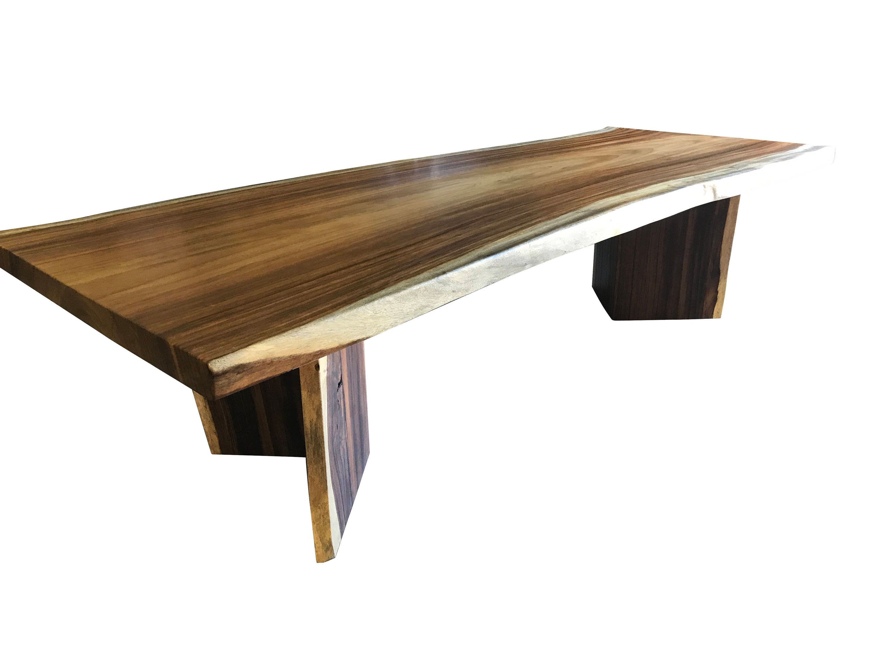 Live edge dining table Live edge with a hand crafted custom live edge base, unique dining table, custom slab table conference table