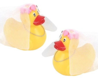 SALE Mrs and Mrs Wedding Rubber Ducks 500-183