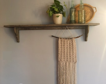 Crocheted Wall Hanging // Wall Decor // Home Decorations