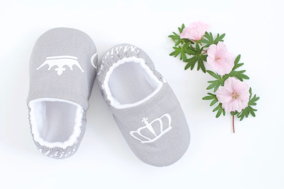 Grey and white Majesty baby girl shoe, pre walkers, toddlers, slippers