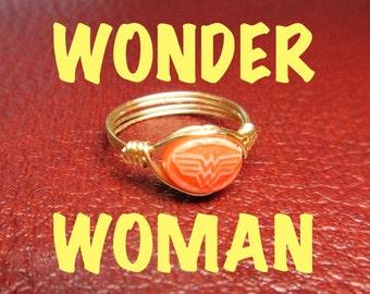 Wonder Woman Ring - Midi Ring - Gold or Silver