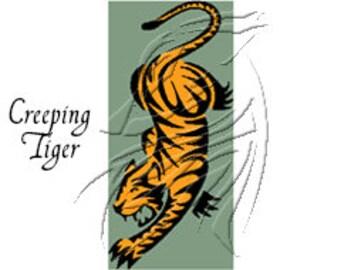 Creeping Tiger - 180x386
