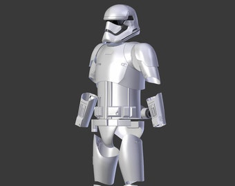 """Stormtrooper Armor """"First Order"""" from Star Wars for 3D-printing"""