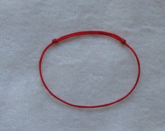 Good Luck Red Bracelet