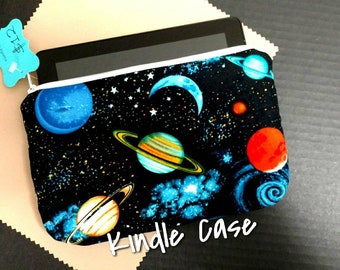 Saturn Solar System Science Kindle Fire Case Sleeve Cover