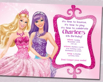 Barbie Birthday Invitation!