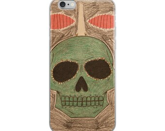 Hecate's Skull iPhone Case