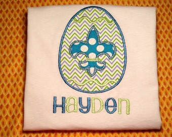 Easter shirt - Fleur de egg