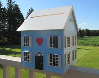 Wedding Gift Card Box, Wedding Card Holder, Bridal Shower Card Box, Wedding Card House, Wedding Money Box, Personalized Wedding Box