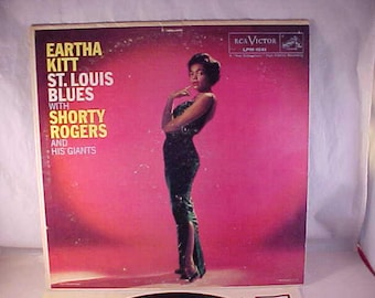 Eartha Kitt - 33 LP - St Louis Blues