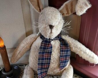 Primitive Bunny | Grungy Bunny | Primitive Grungy Bunny | Handmade Bunny | Handmade Primitive Bunny