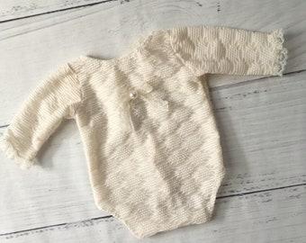 Newborn long sleeve girls Romper