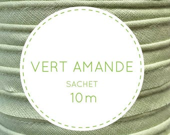 10 m piping - 07 almond green pouch