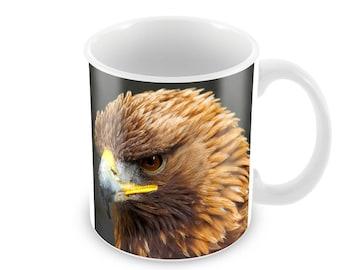 Golden Eagle  Ceramic Coffee Mug    Free Personalisation