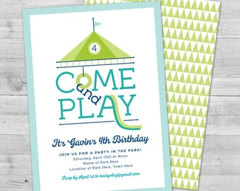 Printable park birthday invitation park birthday party park birthday invitation picnic birthday invitation picnic invitations playground birthday invitation party filmwisefo Gallery