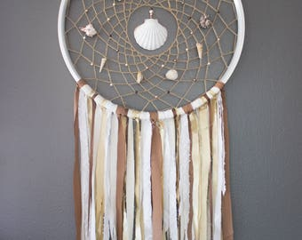 "Oversized Handmade Dreamcatcher 26"" Bicycle Rim"
