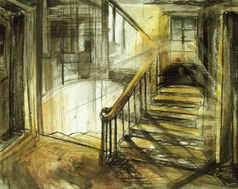 Postcard 'Day' from my series of interiors