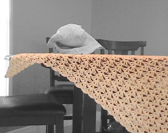 Sanibel Shawl - PDF Crochet Pattern Instant Download