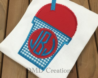 Sno Cone Applique Shirt