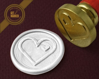You are in my heart - Wax Seal Stamp by Get Marked (WS0158)