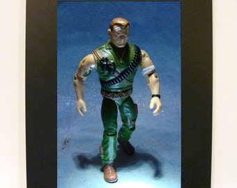 "Framed G.I. Joe Toy Photograph 4"" x 6"""