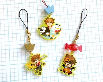 Sora Kingdom Hearts Charms
