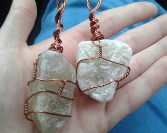 2 Agate Necklaces