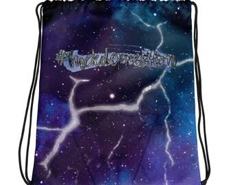 Broken Light Explicit Drawstring bag