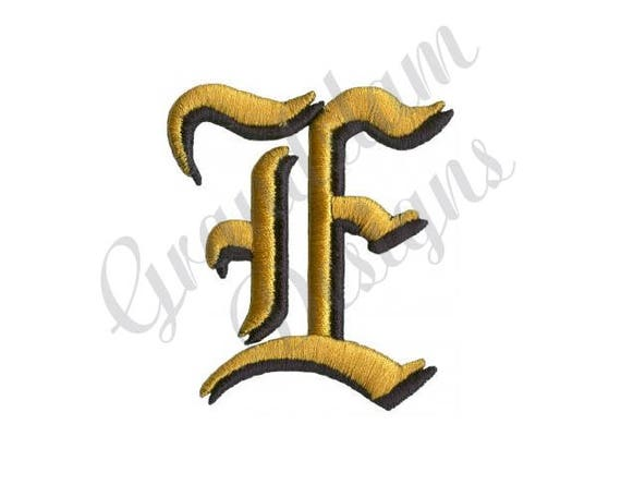 Old english letter e machine embroidery design from old english letter e machine embroidery design from grandslamdesigns on etsy studio thecheapjerseys Image collections
