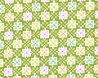 Honey Honey Green Fabric
