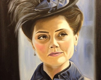 PRINT of Clara Oswald from Doctor Who